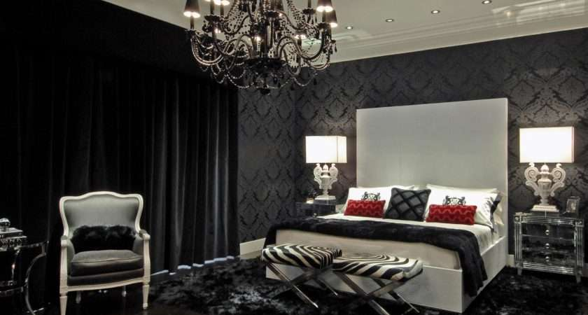 Black White Bedrooms Bedroom Decorating Ideas
