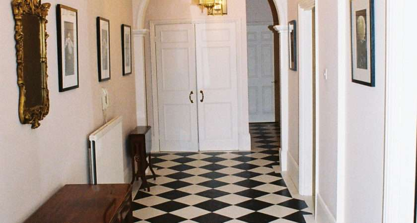 Black White Hallway Decorating Decoration Channel