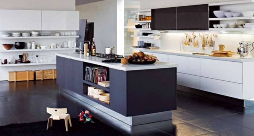 Black White Home Kitchen Decor One Total Contemporary