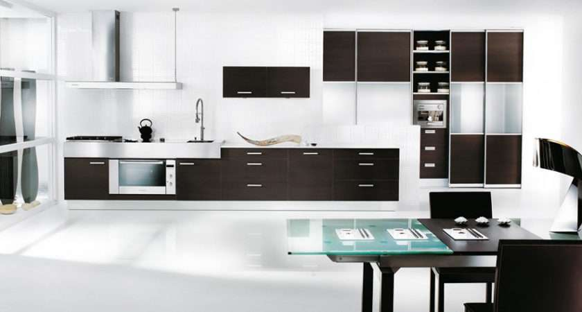 Black White Kitchen Cabinets Furniture
