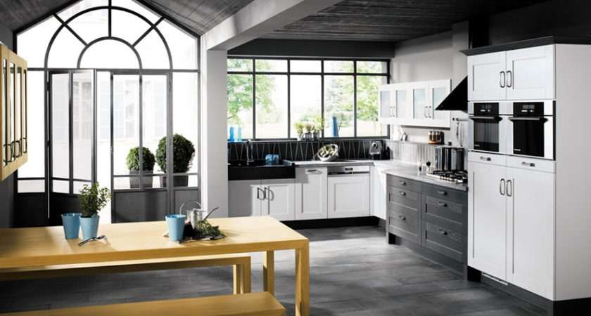 Black White Kitchen Designs Mobalpa