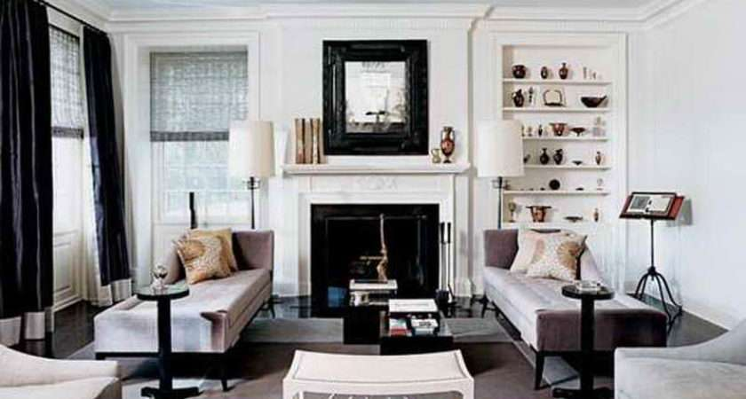 Black White Room Decorating Ideas