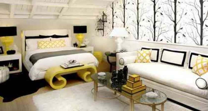 Black White Yellow Bedroom Ideas Decor Ideasdecor
