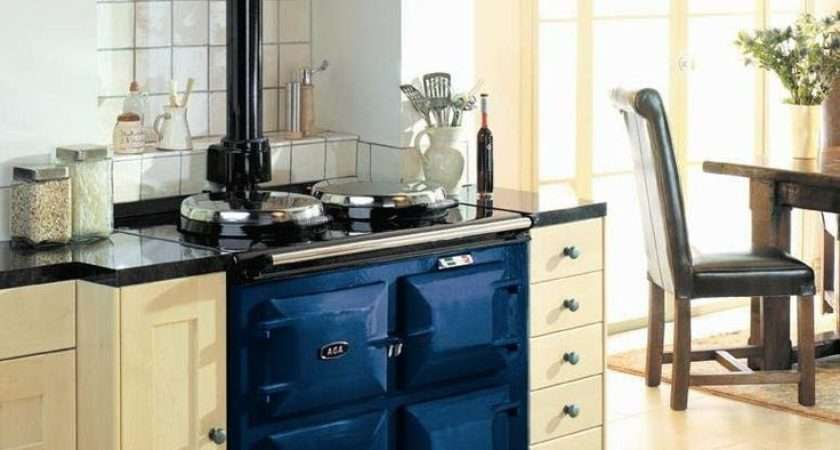 Blue Aga Kitchen Dreaming Pinterest Kitchens