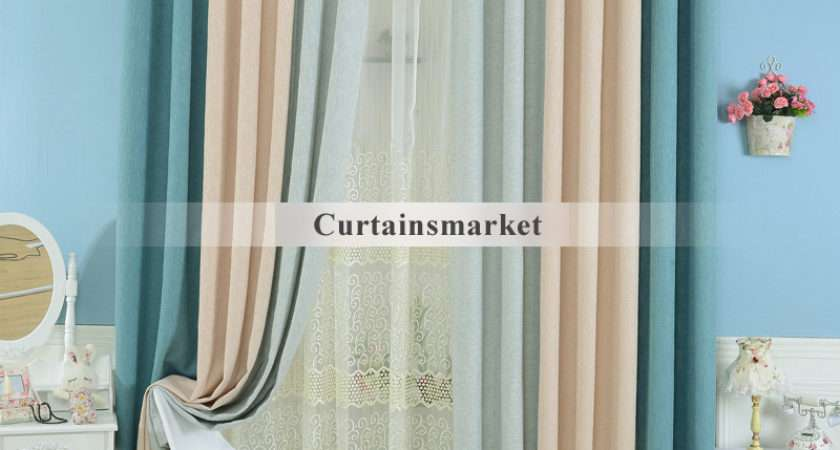 Blue Bedroom Energy Saving Curtains Drapes