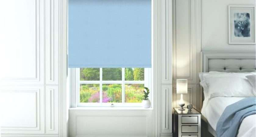 Blue Blinds Navy Kids Curtains Light Reducing Eyelet