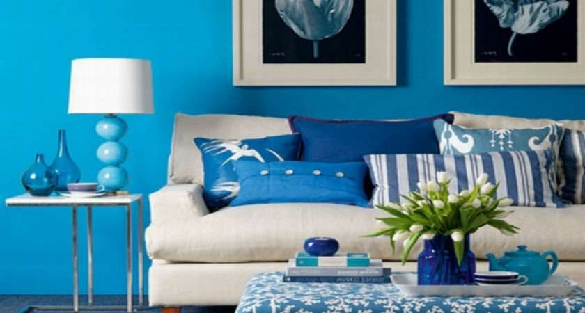 Blue Color Scheme Trends Interior Decorating