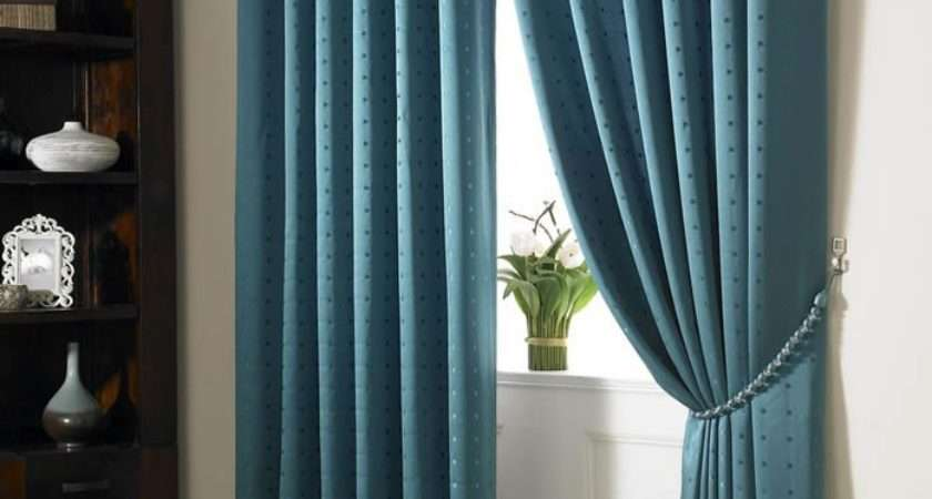 Blue Curtains Bedroom Teal Madison Fully Lined