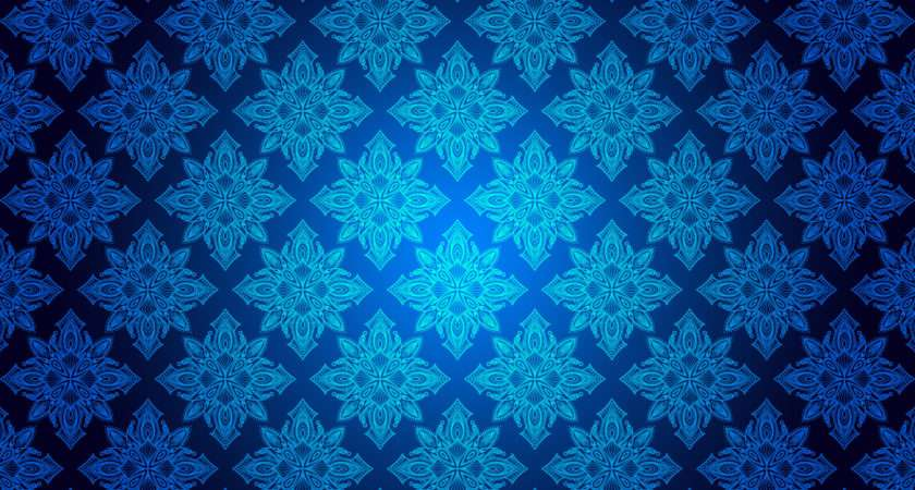 Blue Floral Patterns Freecreatives