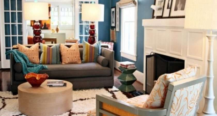 Blue Turqoise Living Room Decorating Ideas Budget