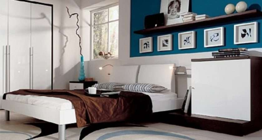 Blue Turquoise Accents Bedroom Designs Stylish Ideas