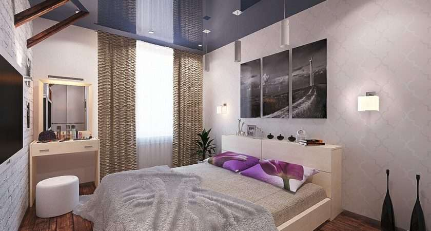 Blue White Glamorous Bedrooms Designs Ideas Inspirations Bedroom