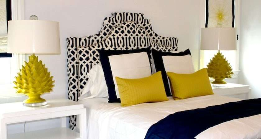 Blue Yellow Bedroom Contemporary Porter