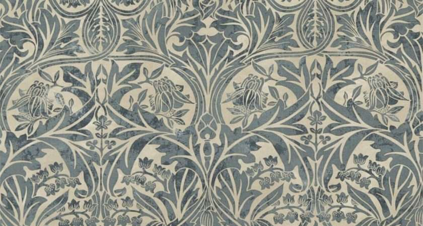 Bluebell Fabric Sea Green Vellum William