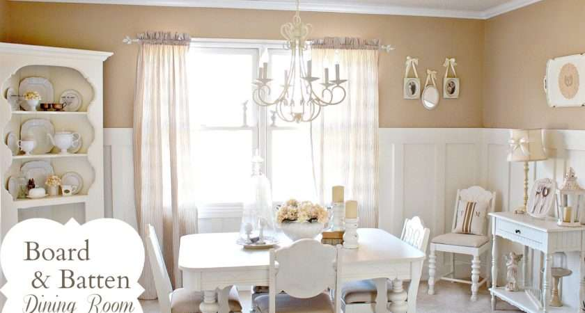 Board Batten Dining Room Makeover Love Home