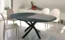 Bontempi Barone Extending Round Dining Table Modern