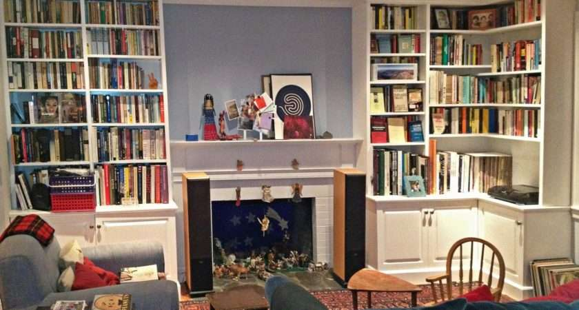Bookshelf Stunning Living Room Bookshelves
