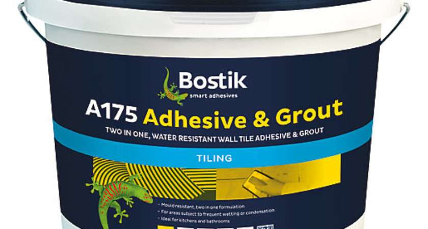 Bostik Ready Mixed Adhesive Grout White Wickes
