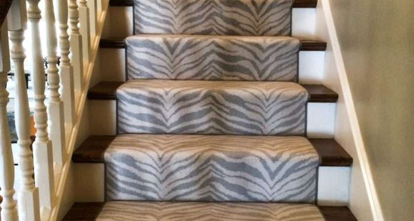 Boston Carpet Rug Animal Print Stair Runner