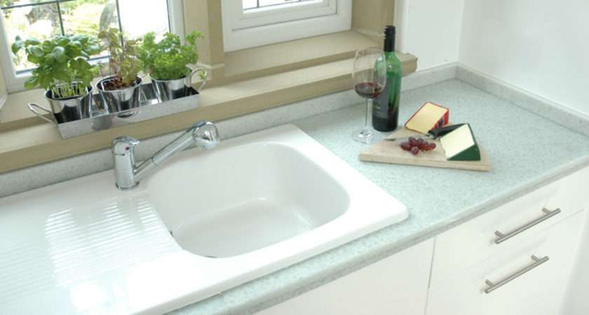 Bottle Alley Glass Recycled Worktops