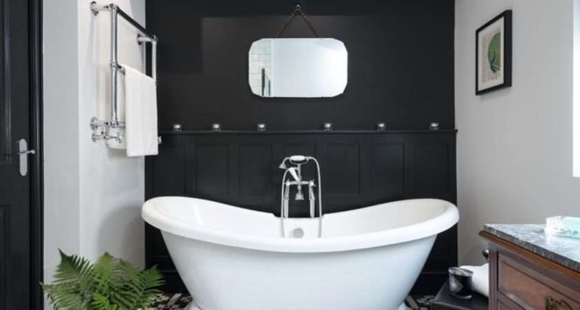 Boutique Victorian Style Bathroom Traditional