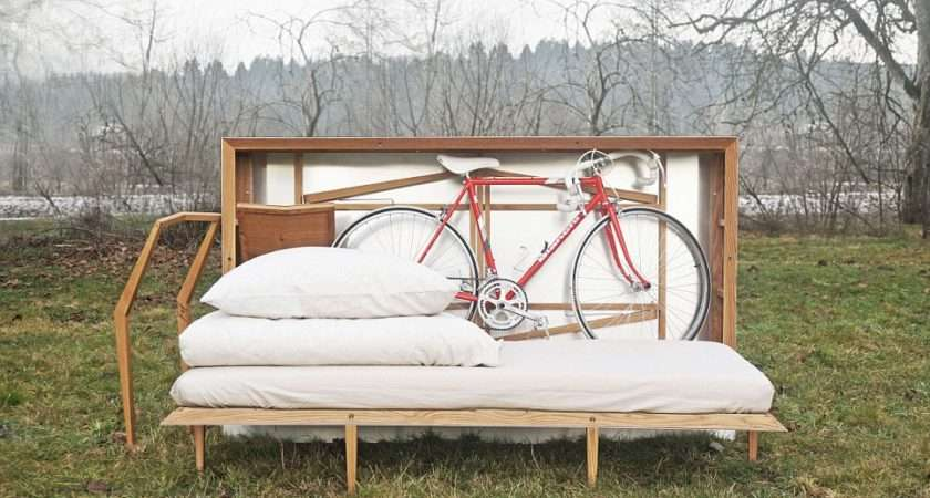 Box Comes Complete Fold Bed Dining Table Even Bicycle