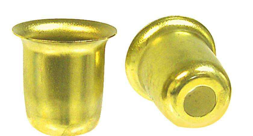 Brass Plated Candle Cup Holder National Artcraft