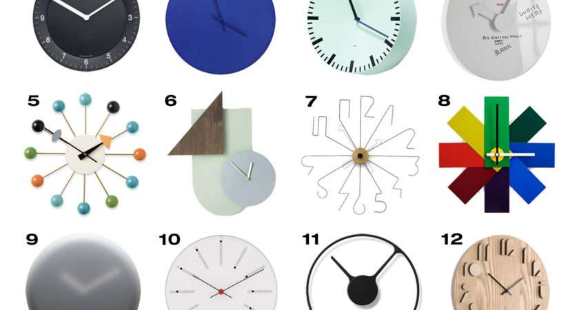 Braun Wall Clock Steel Norm