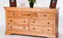 Bretagne Oak Chest Drawers Over Oakea