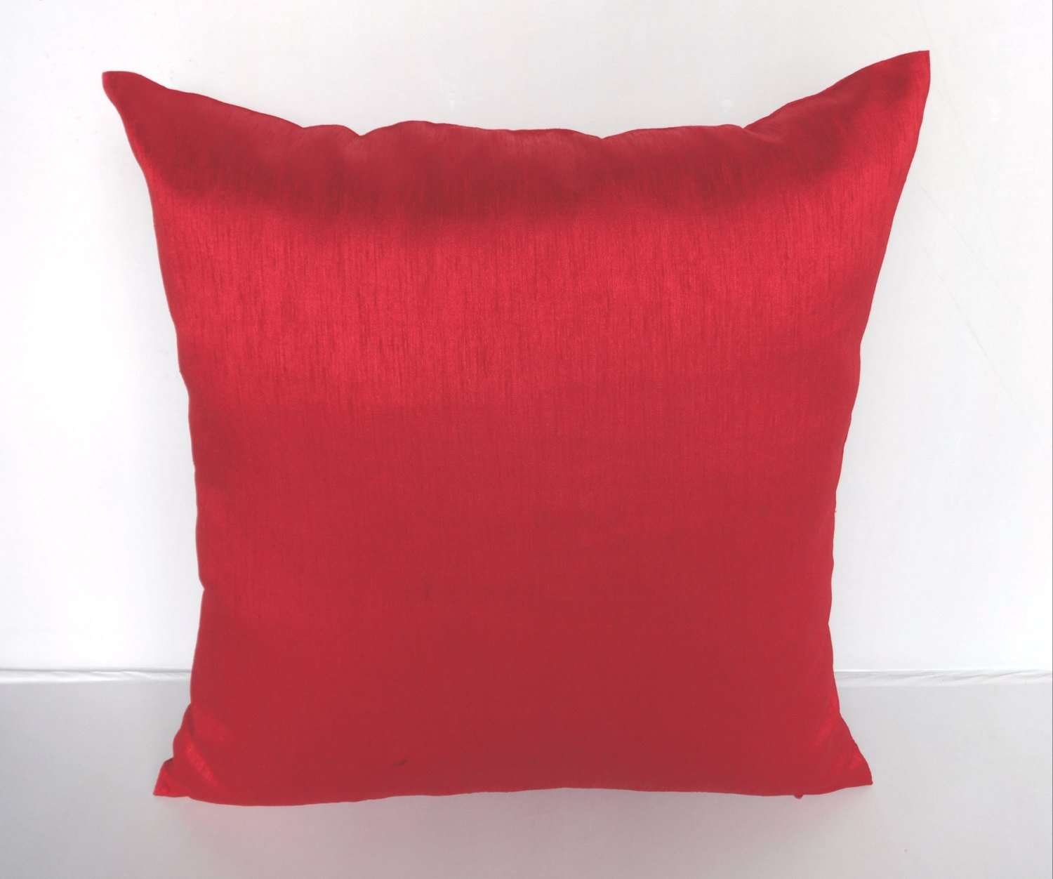 Bright Red Cushion Cover Throw Pillow Inch Price