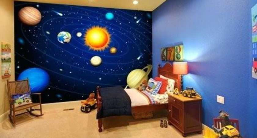 Brilliant Space Themed Bedroom Best Ideas