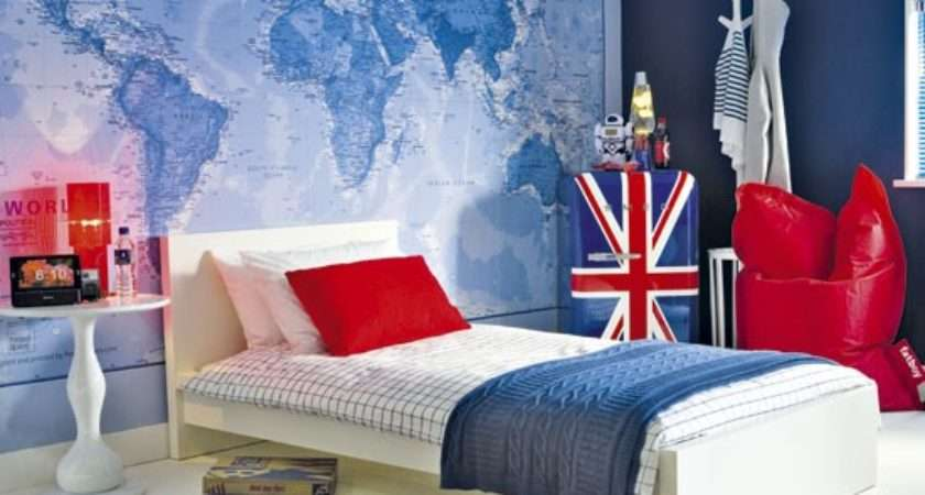 British Themed Boy Bedroom Ideas
