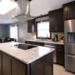 Brown Kitchen Cabinets Modification Stunning