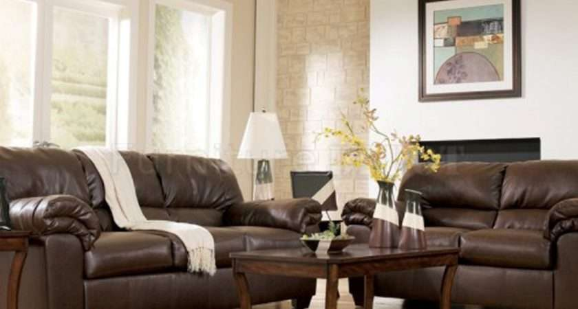 Brown Leather Beige White Living Room Best