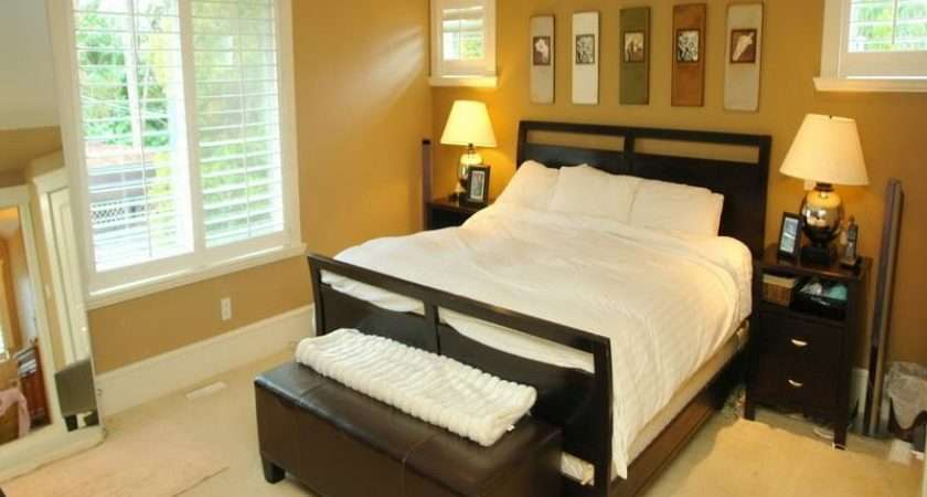 Brown Paint Colors Small Bedrooms
