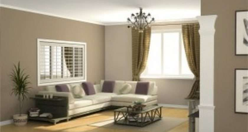Brown Wall Paint Color Ideas Modern Living Room