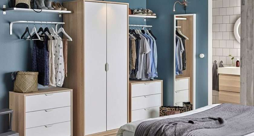 Budget Bedroom Wardrobe Storage Ideas Ikea