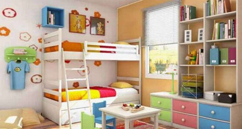 Budget Small Space Design Kids Bedroom Ideas