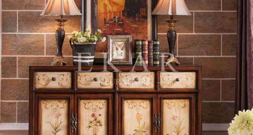 Buffet Decoration Sideboards Drawer Door Sideboard