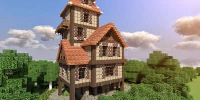 Build Beautiful Medieval House Minecraft Blog