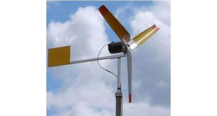 Build Your Own Small Windmill