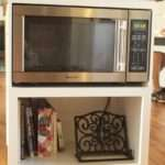 Building Custom Microwave Cabinet Simply Swider