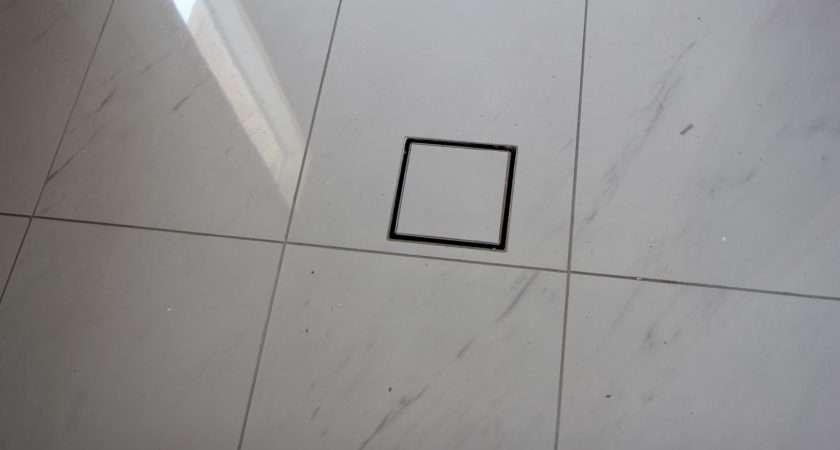 Building Our House Grey White Tiles