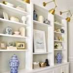 Built Bookcases Decorating Ideas Sofa Cope