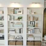 Built Bookcases Using Ikea Shelves