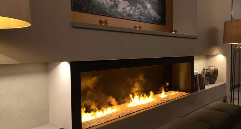 Built Electric Fireplace Inserts Designs