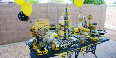 Bumble Bee Birthday Party Design Dazzle