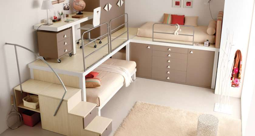 Bunk Bed Teen Bedroom Stylehomes