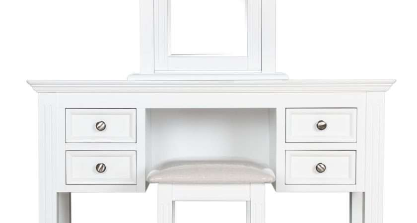 Burford White Painted Dressing Table Set