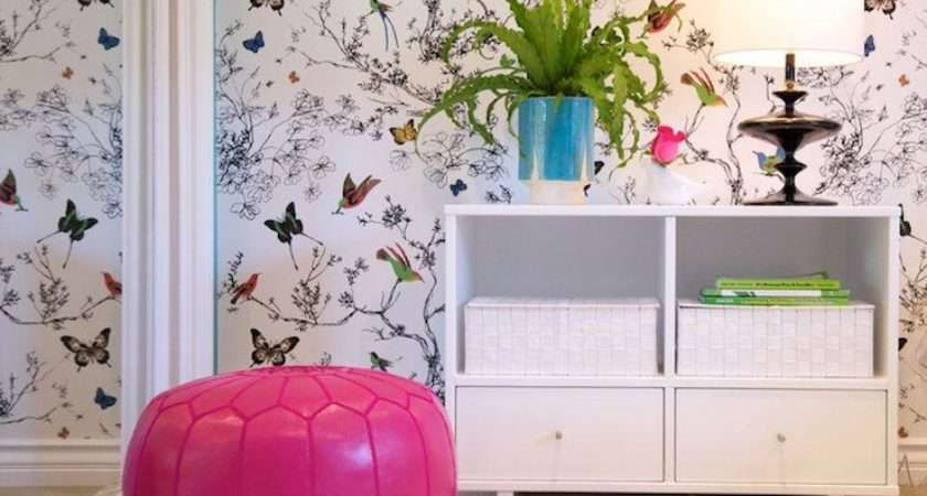 Butterflies Contemporary Girl Room Jac Interiors